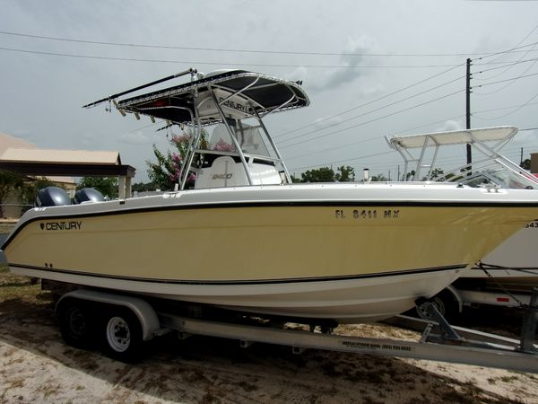 Used Century 2400 CC Center Console Boat For Sale