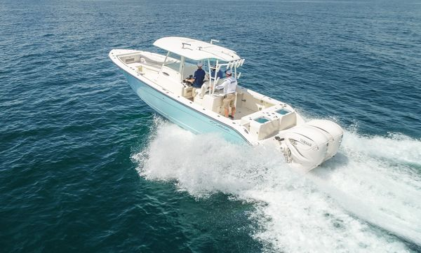 Used Cobia 320 Center Console Center Console Fishing Boat For Sale