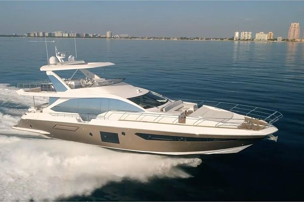 Used Azimut 72 Flybridge Boat For Sale