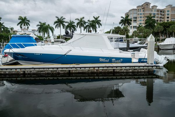 Used Intrepid 430 Sport Yacht Center Console Fishing Boat For Sale