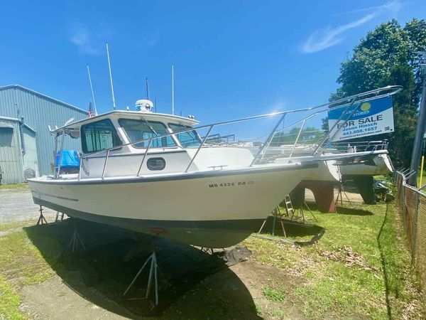 Used C-Hawk 29 Sport Cabin Pilothouse Boat For Sale