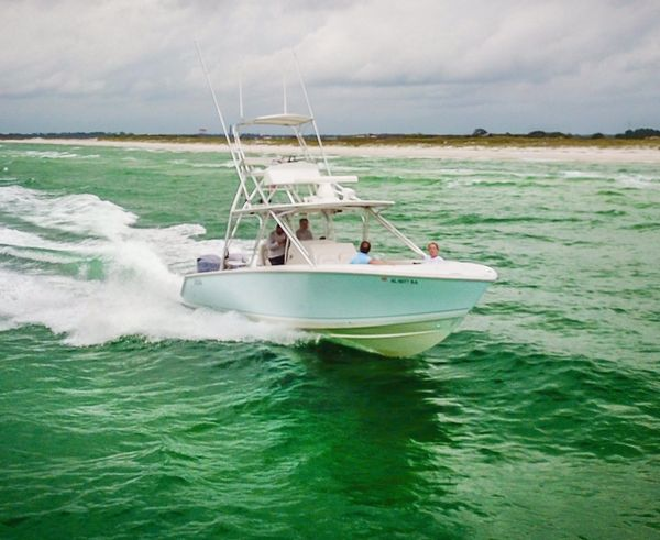 Used Jupiter 34 FS Repower Center Console Fishing Boat For Sale