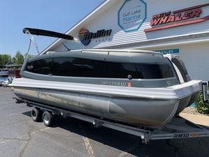 Used Marker One ML2 Pontoon Boat For Sale