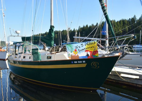 Used Clearwater Coastal 34 Cruiser Sailboat For Sale