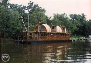 Used Custom 75 House Boat House Boat For Sale