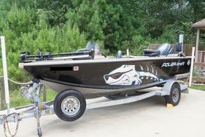 Used Polar Kraft V178 Sc Aluminum Fishing Boat For Sale