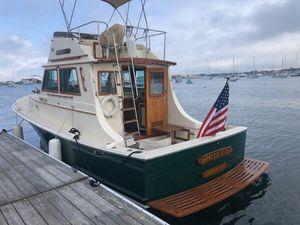 Used Blue Seas 31 Sedan Downeast Fishing Boat For Sale