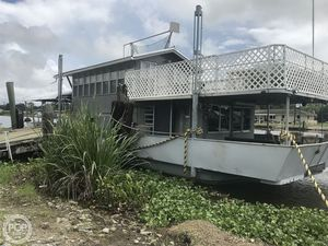 Used Custom Built 60 House Boat For Sale