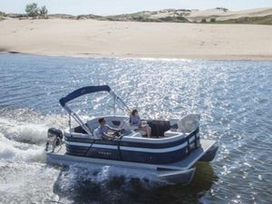 New Crest Classic LX 200 SLC Pontoon Boat For Sale