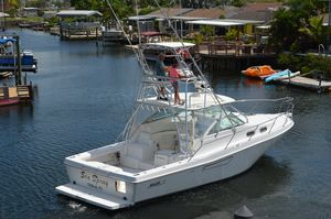 Used Boston Whaler 350 Defiance Sports Fishing Boat For Sale