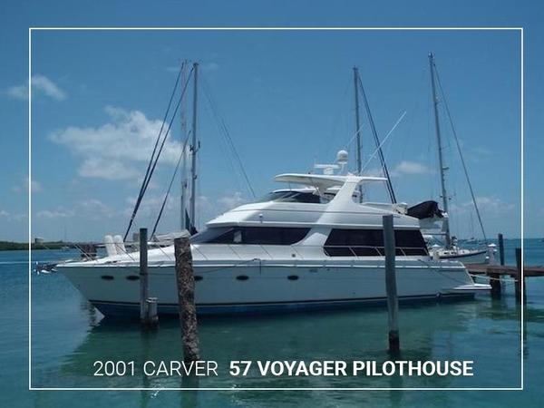 Used Carver 57 Voyager Pilothouse Boat For Sale
