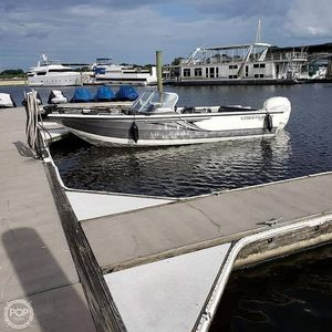 Used Crestliner 2150 Sportfish SST Aluminum Fishing Boat For Sale