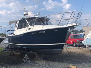 Used Cutwater 26 Downeast Fishing Boat For Sale