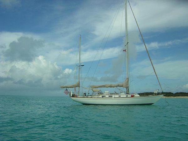 Used Block Island 40 Centerboard Cruiser Sailboat For Sale