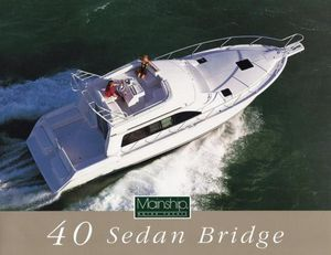 Used Mainship 40 Sedan Bridge Motor Yacht For Sale