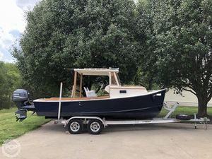 Used Seaway 21 Coastal Hardtop Downeast Fishing Boat For Sale