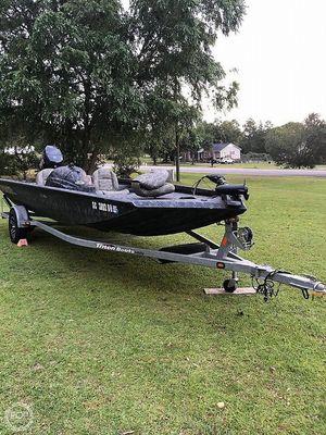 Used Triton 17 Aluminum Fishing Boat For Sale