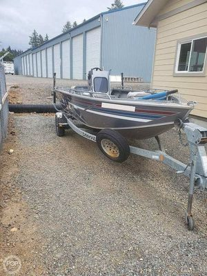 Used Fish-Rite Stealth 177 Aluminum Fishing Boat For Sale