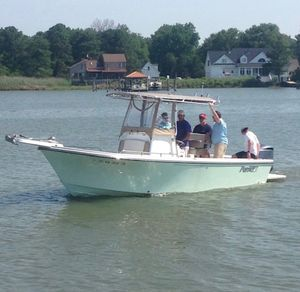Used Parker 2300 Center Console Fishing Boat For Sale