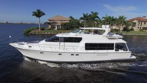 Used Pacific Mariner 65 Motoryacht Pilothouse Boat For Sale