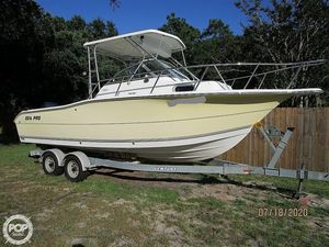 Used Sea Pro 238 WA Walkaround Fishing Boat For Sale