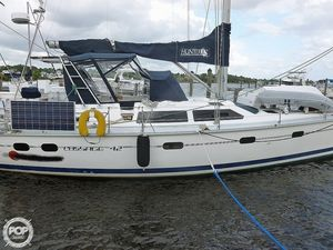 Used Hunter Passage 42 Racer and Cruiser Sailboat For Sale