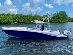 Used Deep Impact 36 Cuddy Center Console Fishing Boat For Sale