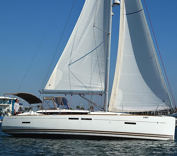 Used Jeanneau 409 Sun Odyssey Sloop Sailboat For Sale