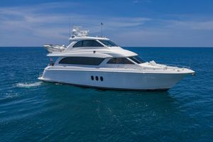 Used Hatteras Enclosed Bridge, 4 stateroom, CATS Motor Yacht For Sale