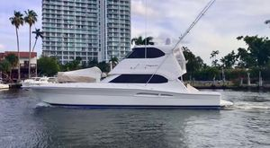 Used Riviera Enclosed Flybridge Convertible Fishing Boat For Sale