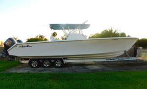 Used Seahunter 37 Tournament Center Console Fishing Boat For Sale