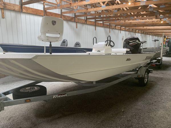 New Triton Boats 1862 CC Bass Boat For Sale
