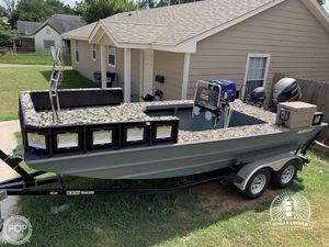 Used Alweld 1870 Bowfish Aluminum Fishing Boat For Sale