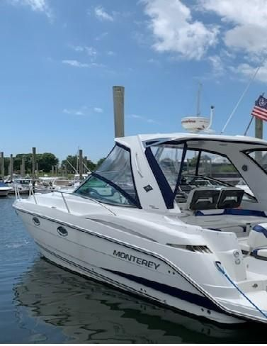 Used Monterey 355 Sport Yacht Cruiser Boat For Sale