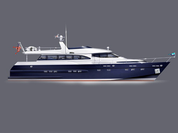 New Bruce Roberts Pilothouse MY Motor Yacht For Sale