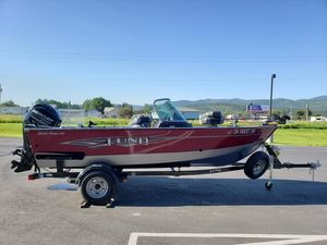 Used Lund 1650 Rebel XL Sport Freshwater Fishing Boat For Sale