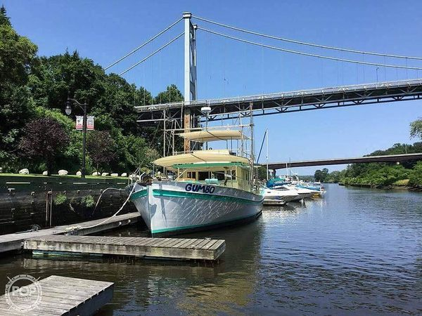 Used Mobley 50 Trawler Boat For Sale