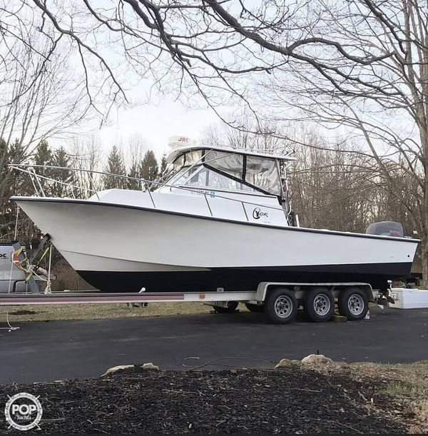 Used C-Hawk Cuddy Walkaround Fishing Boat For Sale