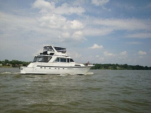 Used Hatteras 58 Yachtfish Aft Cabin Boat For Sale