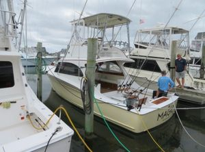 Used Sunny Briggs 37 Convertible Sportfish Saltwater Fishing Boat For Sale