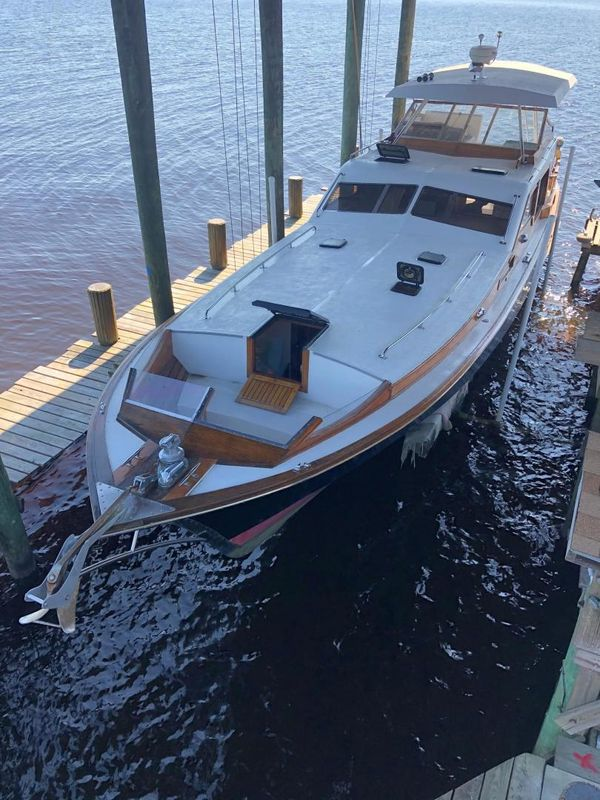 Used Cheoy Lee Midnight Lace Motor Yacht For Sale