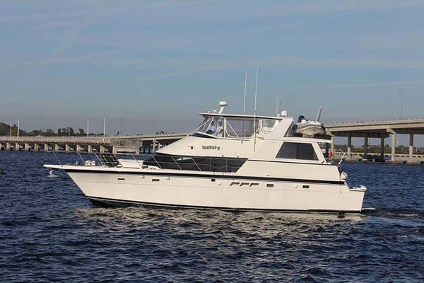 Used Hatteras Cockpit MY Motor Yacht For Sale