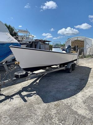 Used Aquasport 222 Flatback Center Console Fishing Boat For Sale