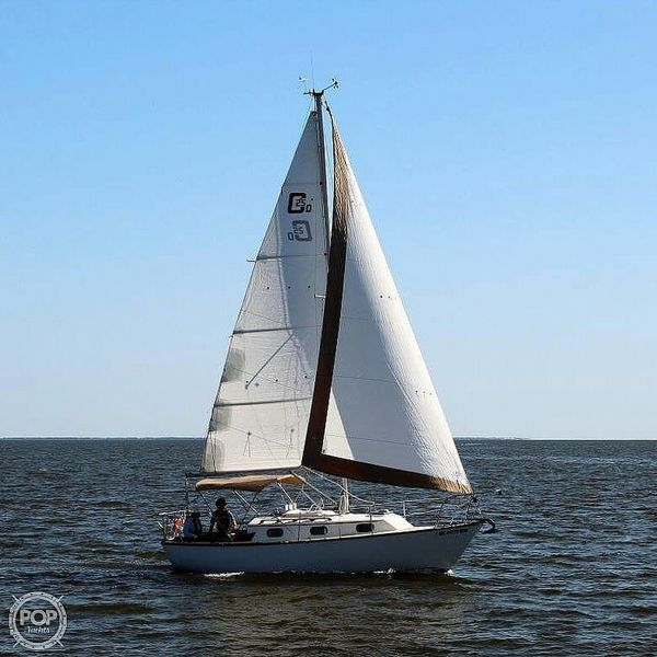 Used Cape Dory 25D Sloop Sailboat For Sale