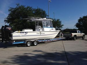 Used Twin Vee 26 Hawaiian Fisherman Power Cruiser Boat For Sale
