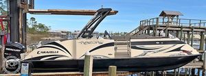 Used Caravelle Razor Ur-247 Pontoon Boat For Sale