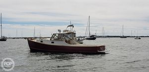 Used Wasque 32 Downeast Fishing Boat For Sale