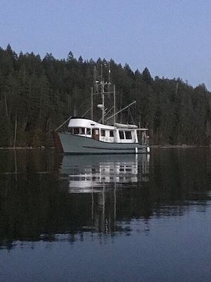 Used Custom 42 Trawler Boat For Sale