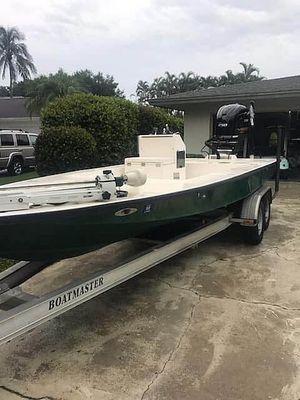 Used Lake & Bay Gene Debois 20 Flats Fishing Boat For Sale