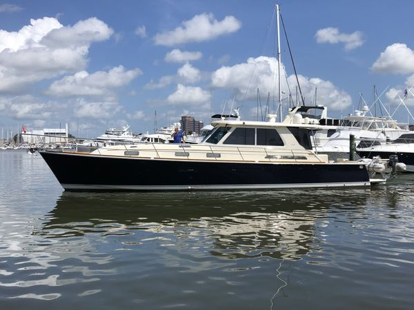 Used Sabre 52 Salon Express Downeast Fishing Boat For Sale